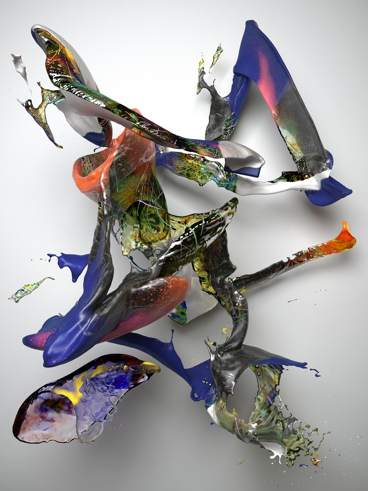 Banz & Bowinkel, Substance I-1, CGI Fine Art Print, 200 cm x 150 cm, 2017