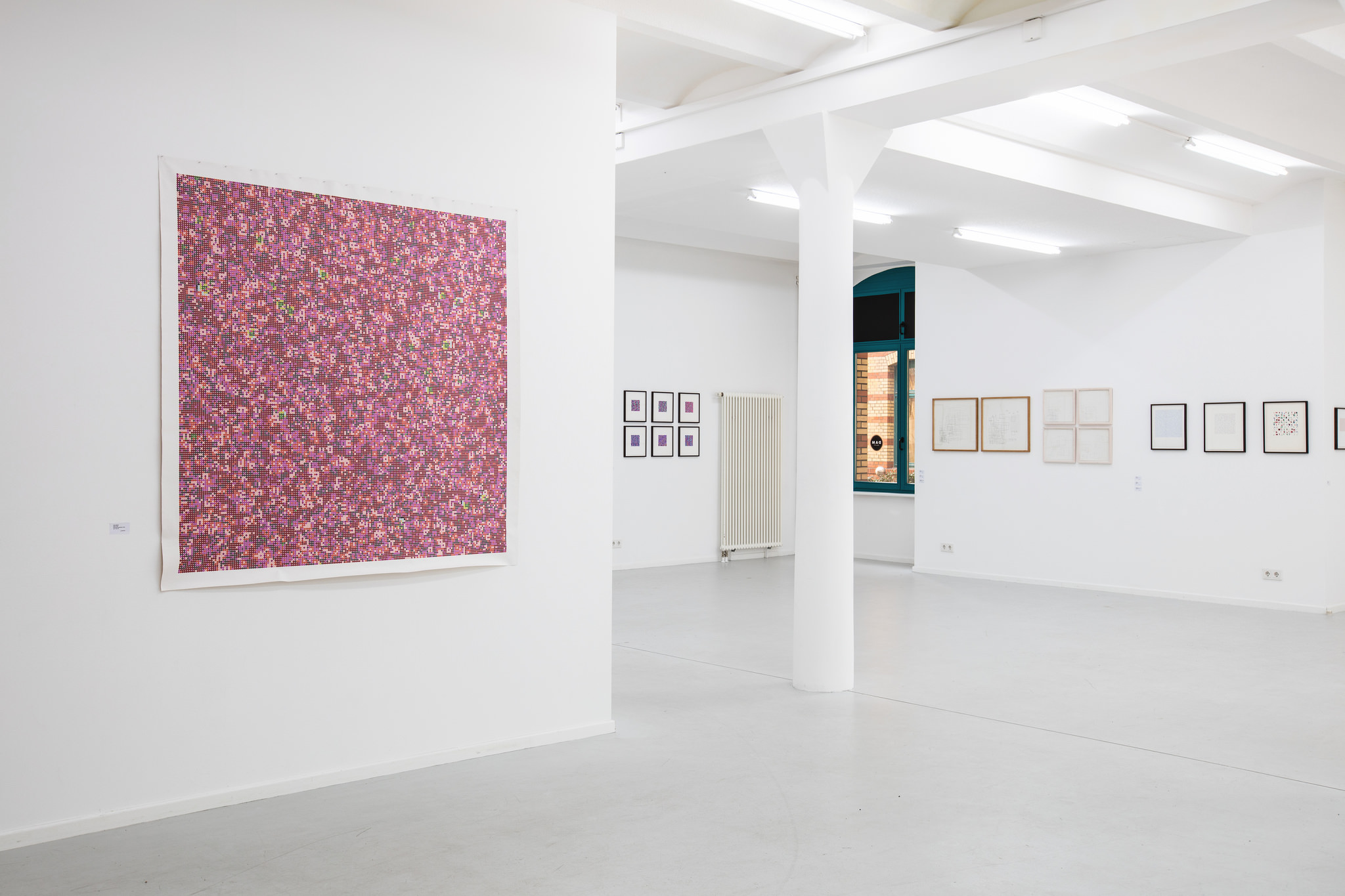 Peter Beyls, Mind the System, 2016, installation view