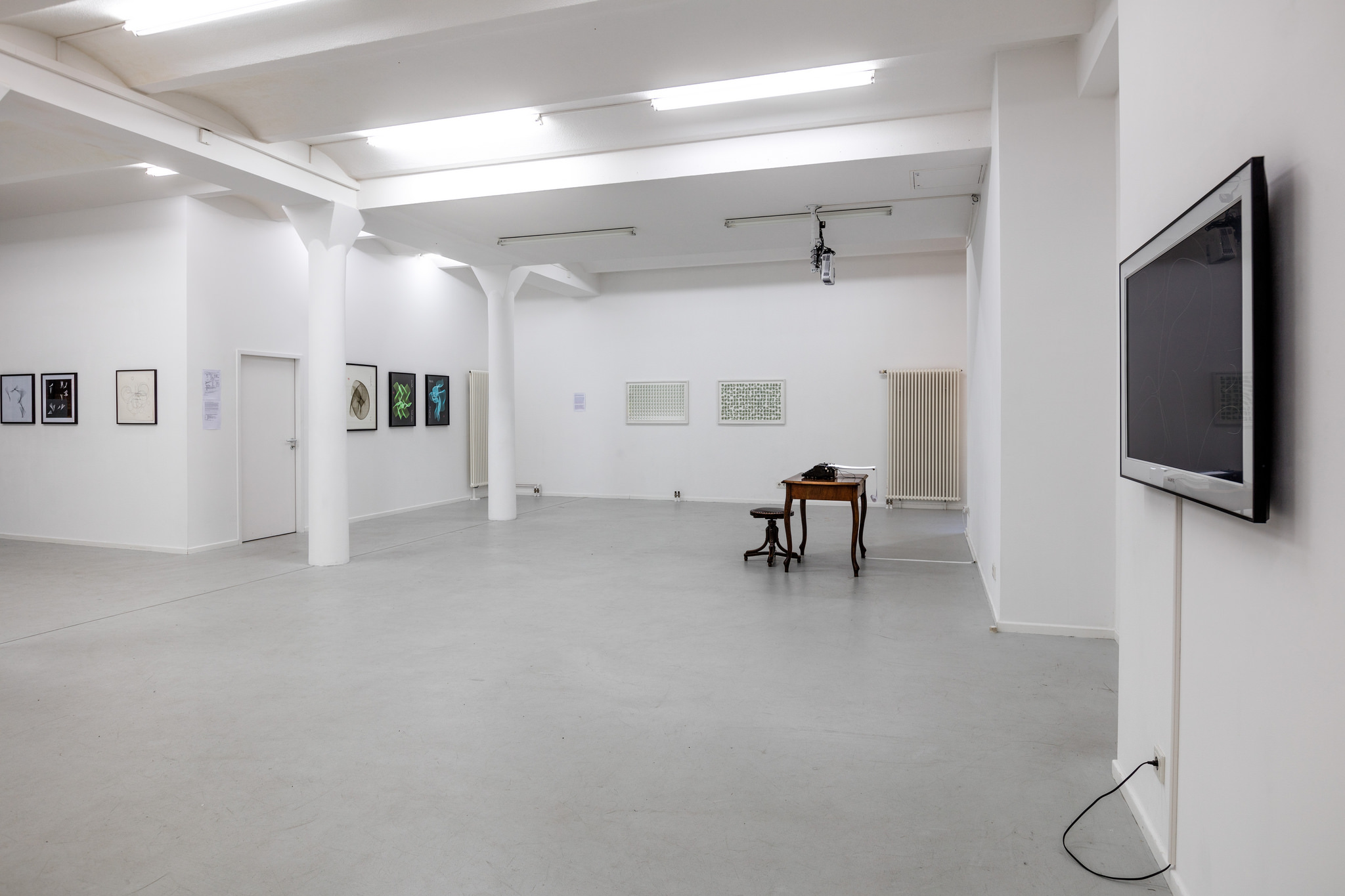 Code+Poetry, group show, 2016, installation view