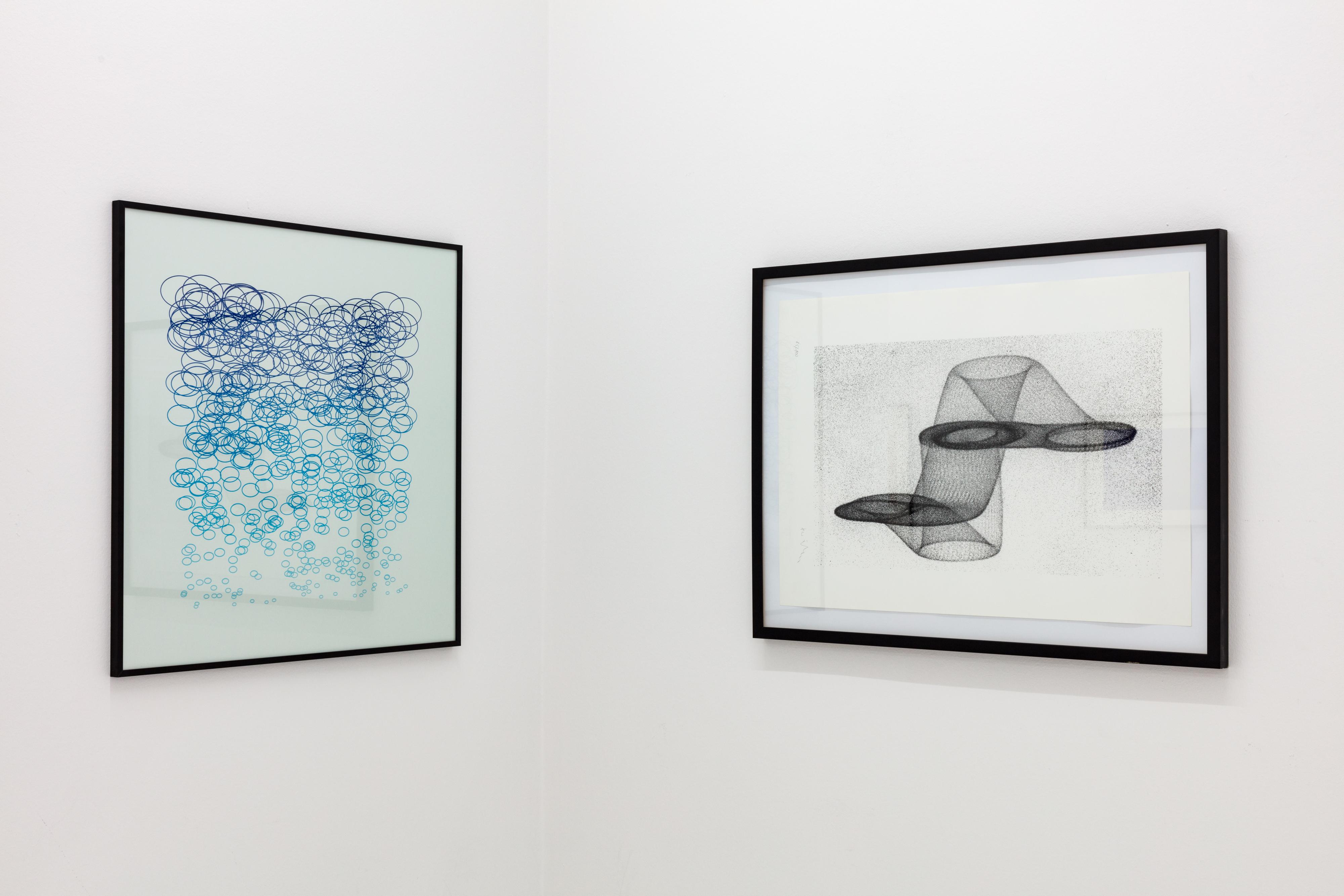Computer-Grafik 1984, Ausstellungsansicht, 2018