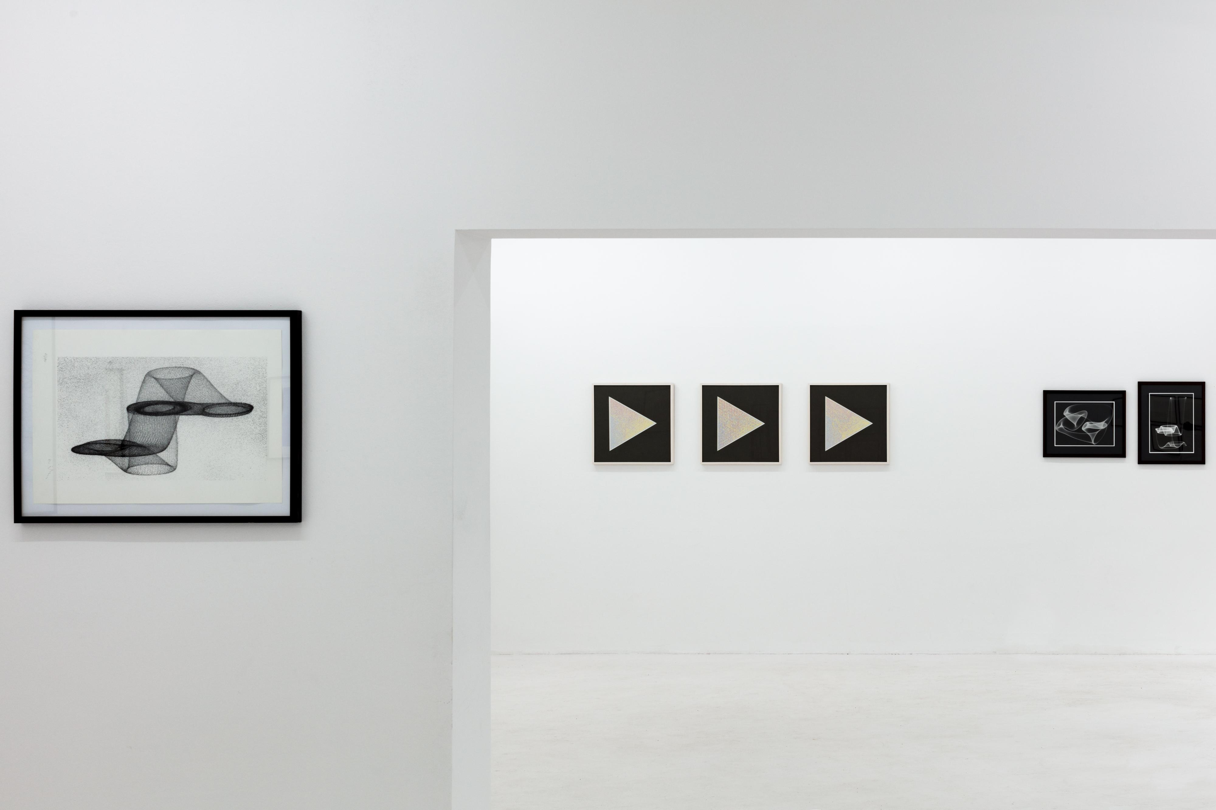 Computer-Grafik 1984, installation view, 2018