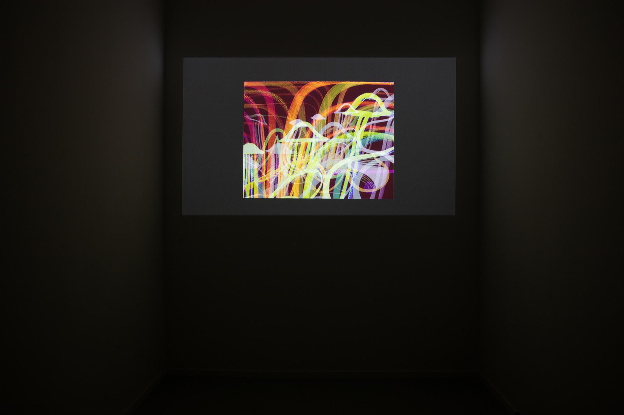 DRKRM, Gruppenausstellung, 2015, Ausstellungsansicht