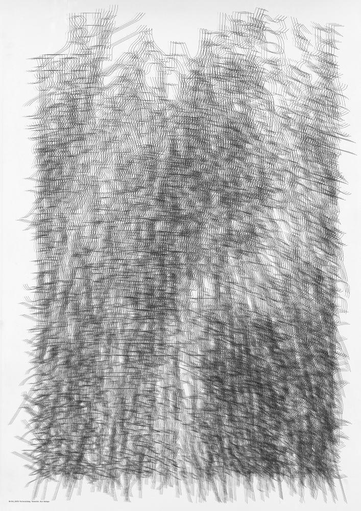 Hans Dehlinger, SN-340_[20111], Plotterzeichnung, 72 cm x 102 cm, 2011