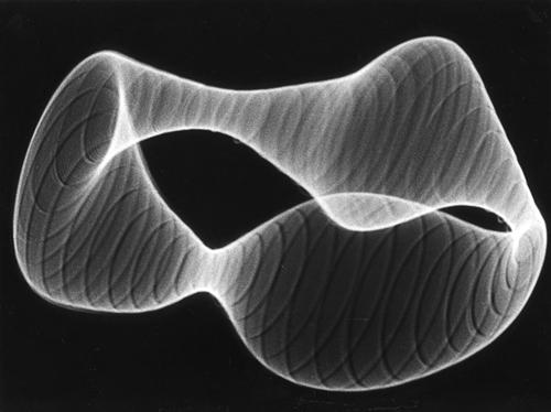 Herbert W. Franke, Fine Art Print, Tanz der Elektronen Nr. 3, 1962/63, 10 Exemplare, 2018