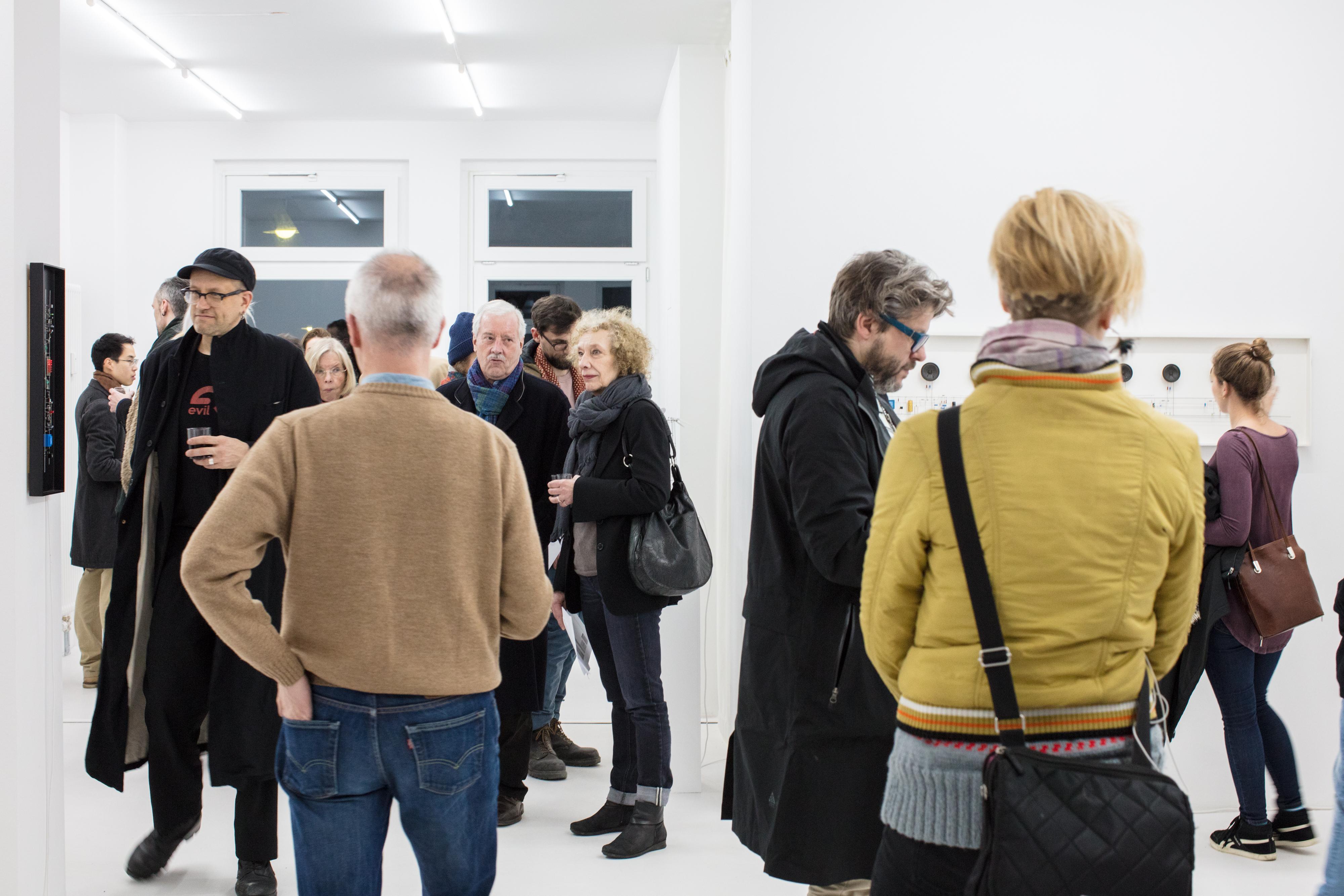 Peter Vogel, Gestalten + Zufall, Preview, 2018