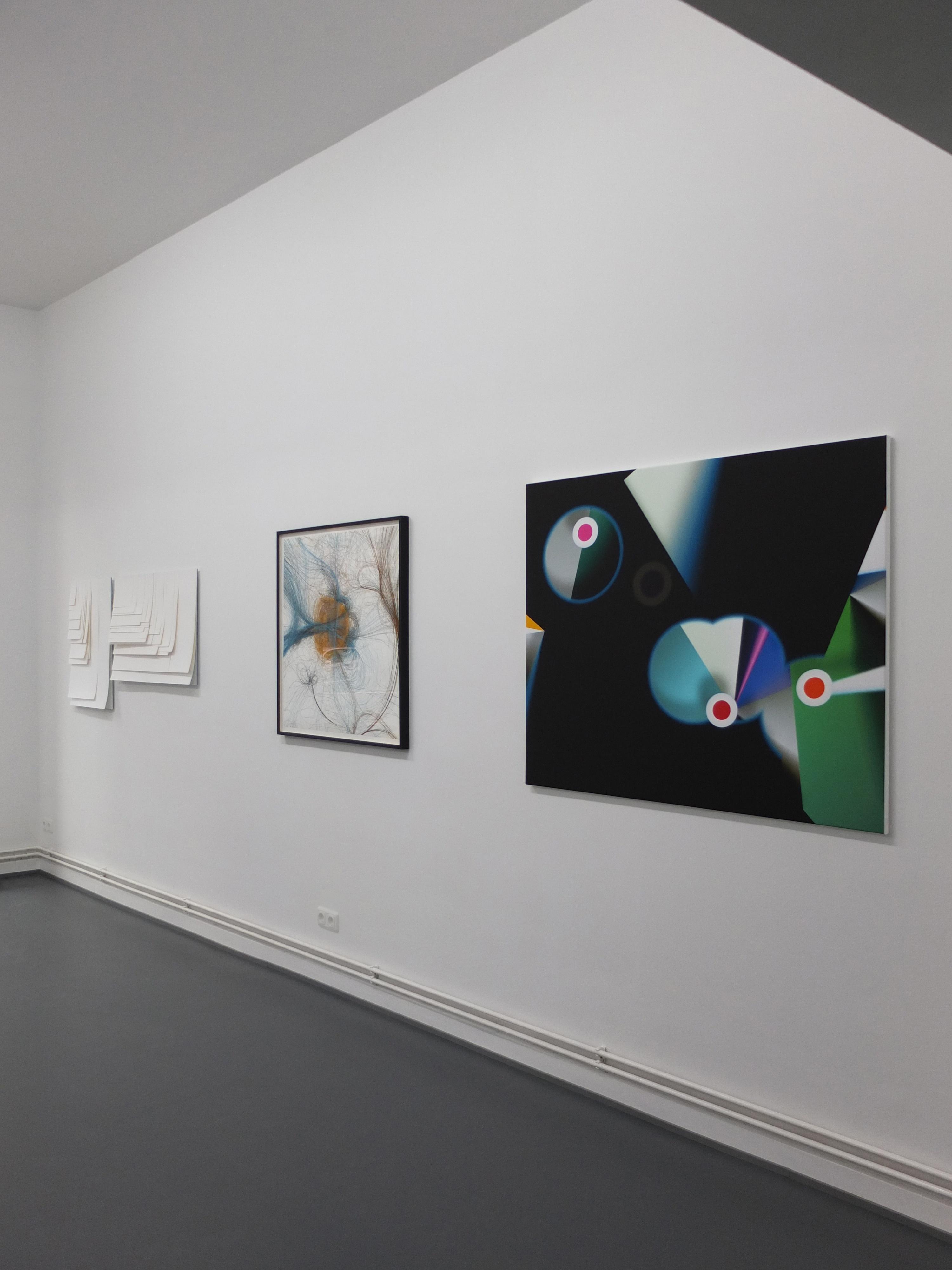 Back To Back, Gruppenausstellung, Frankfurt, 2013, Ausstellungsansicht