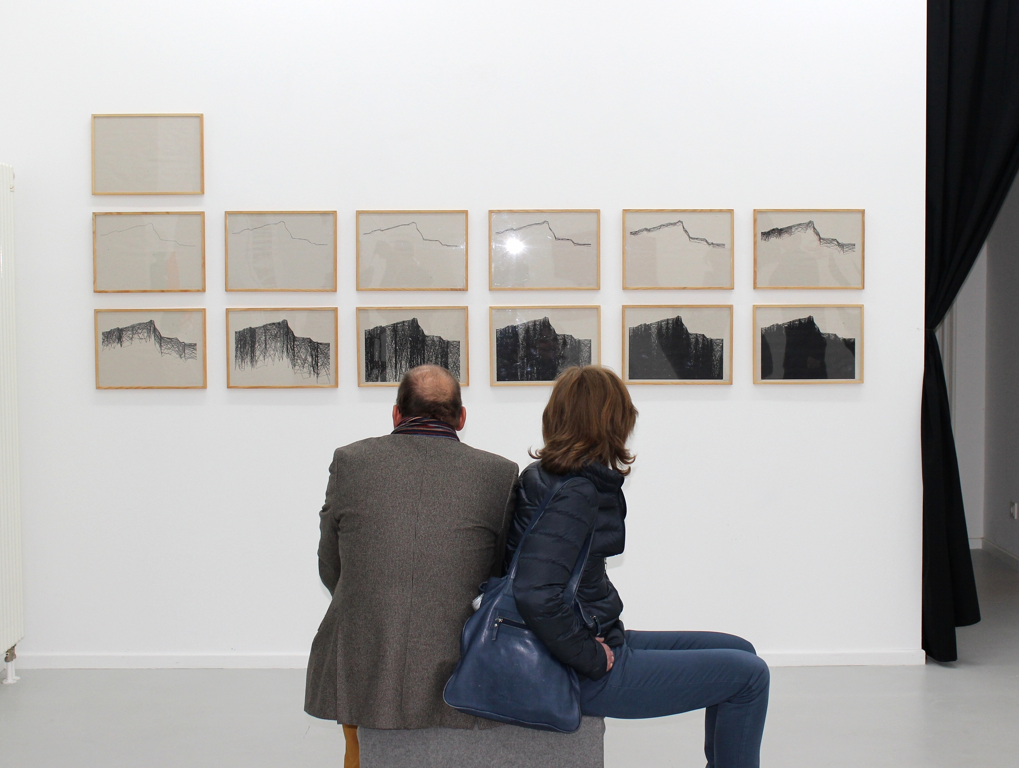 Vera Molnar, Solo, 2014, Preview