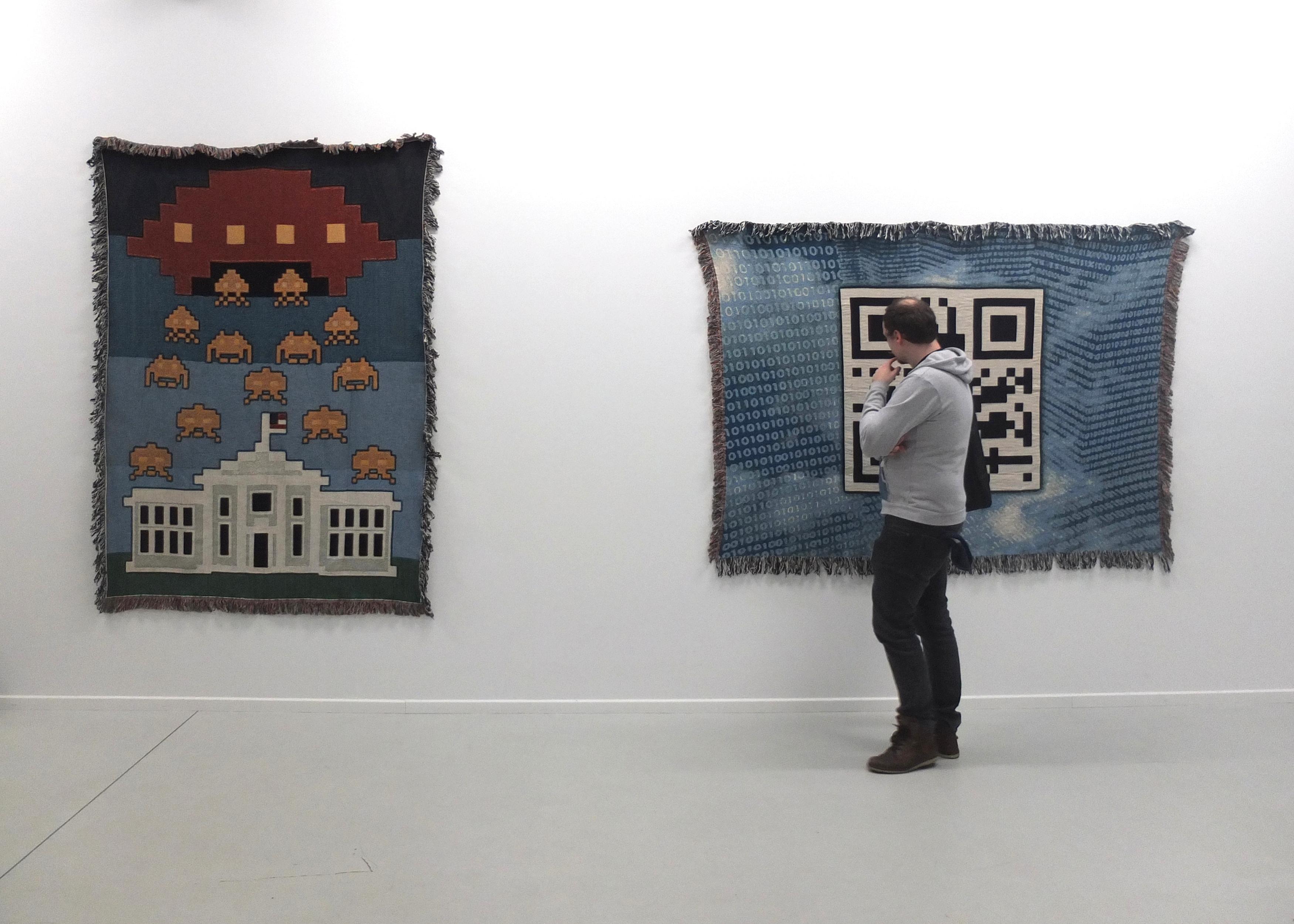 Patrick Lichty, Artifacts, 2015, Ausstellungsansicht