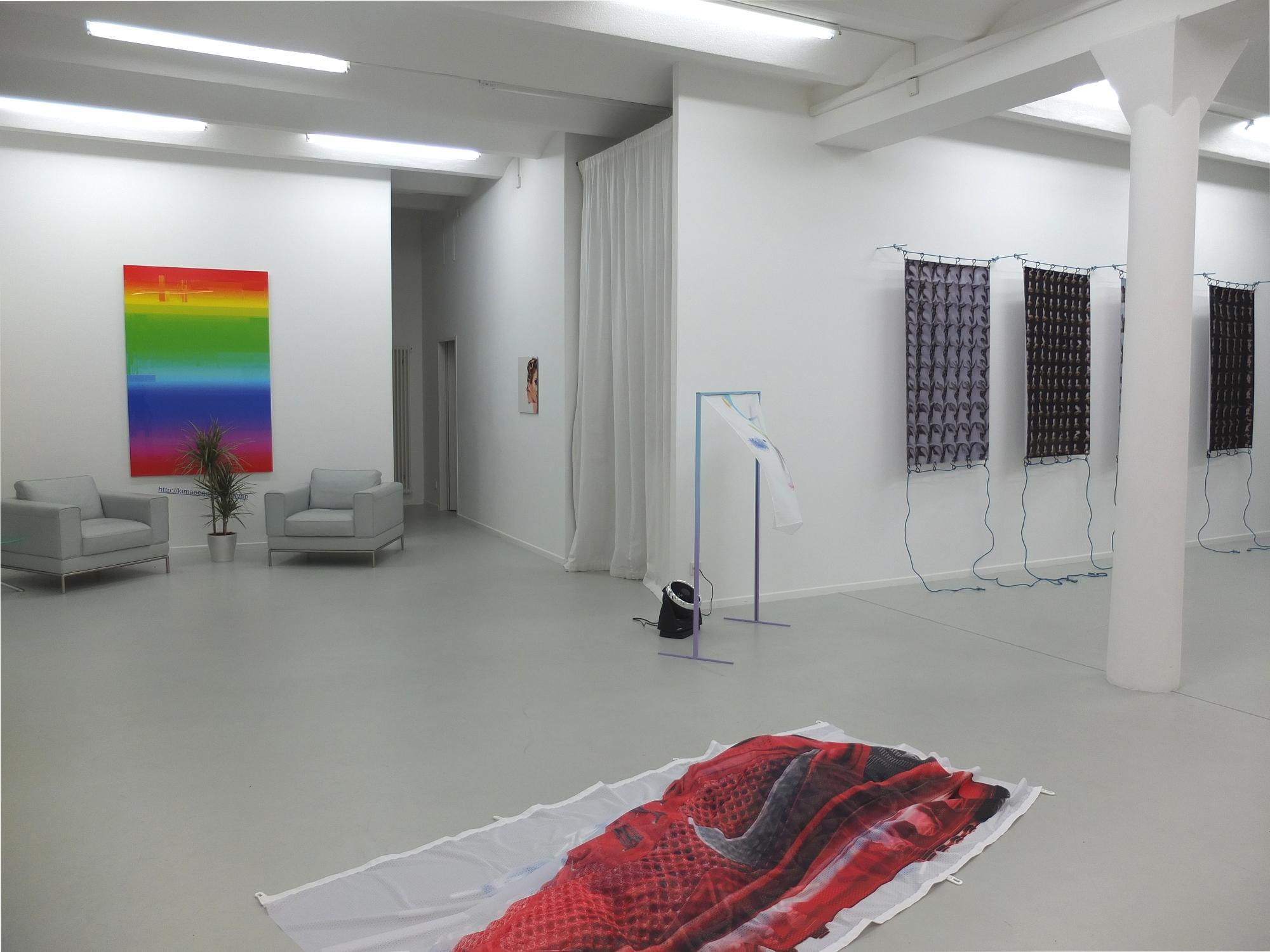 Kim Asendorf & Flavien Théry, Ausstellungsansicht, 2014