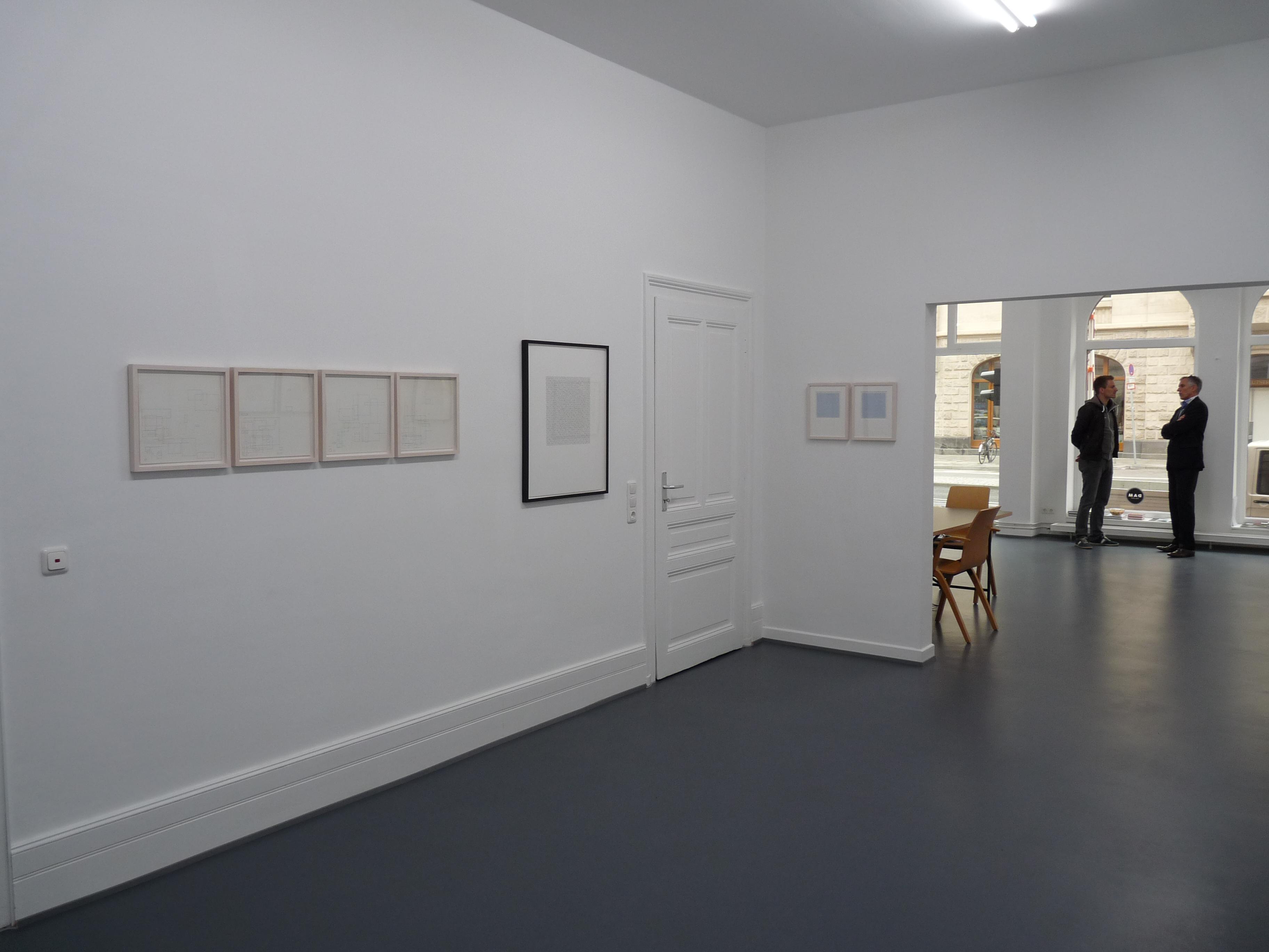 Peter Beyls, Bit By Bit, 2013, Ausstellungsansicht