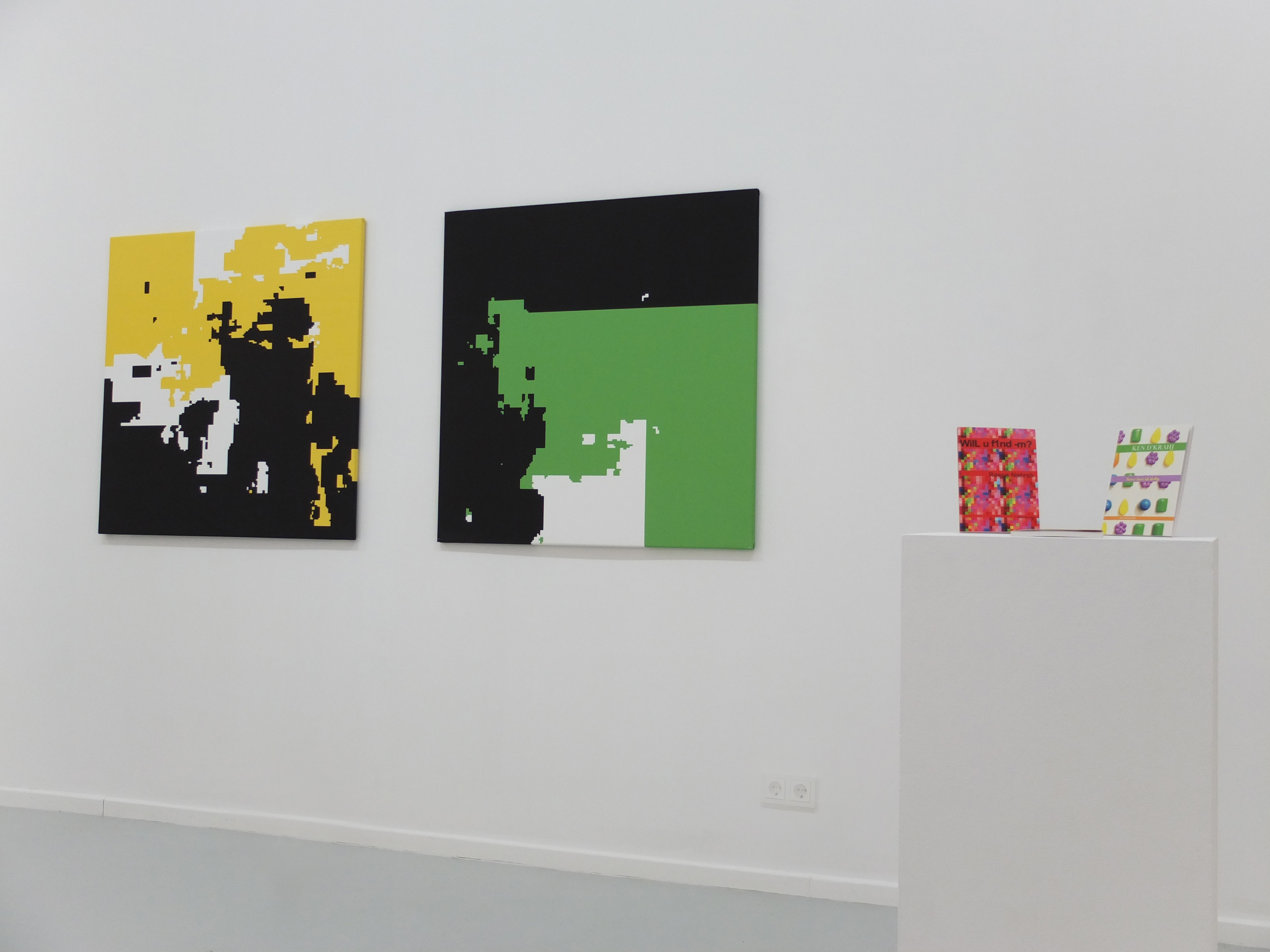 Summer Splash 2, Gruppenausstellung, 2013, Ausstellungsansicht
