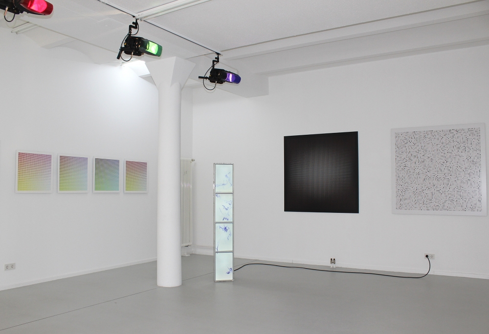 LAB[AU] - Drawing, Painting, Writing, 2014, Ausstellungsansicht