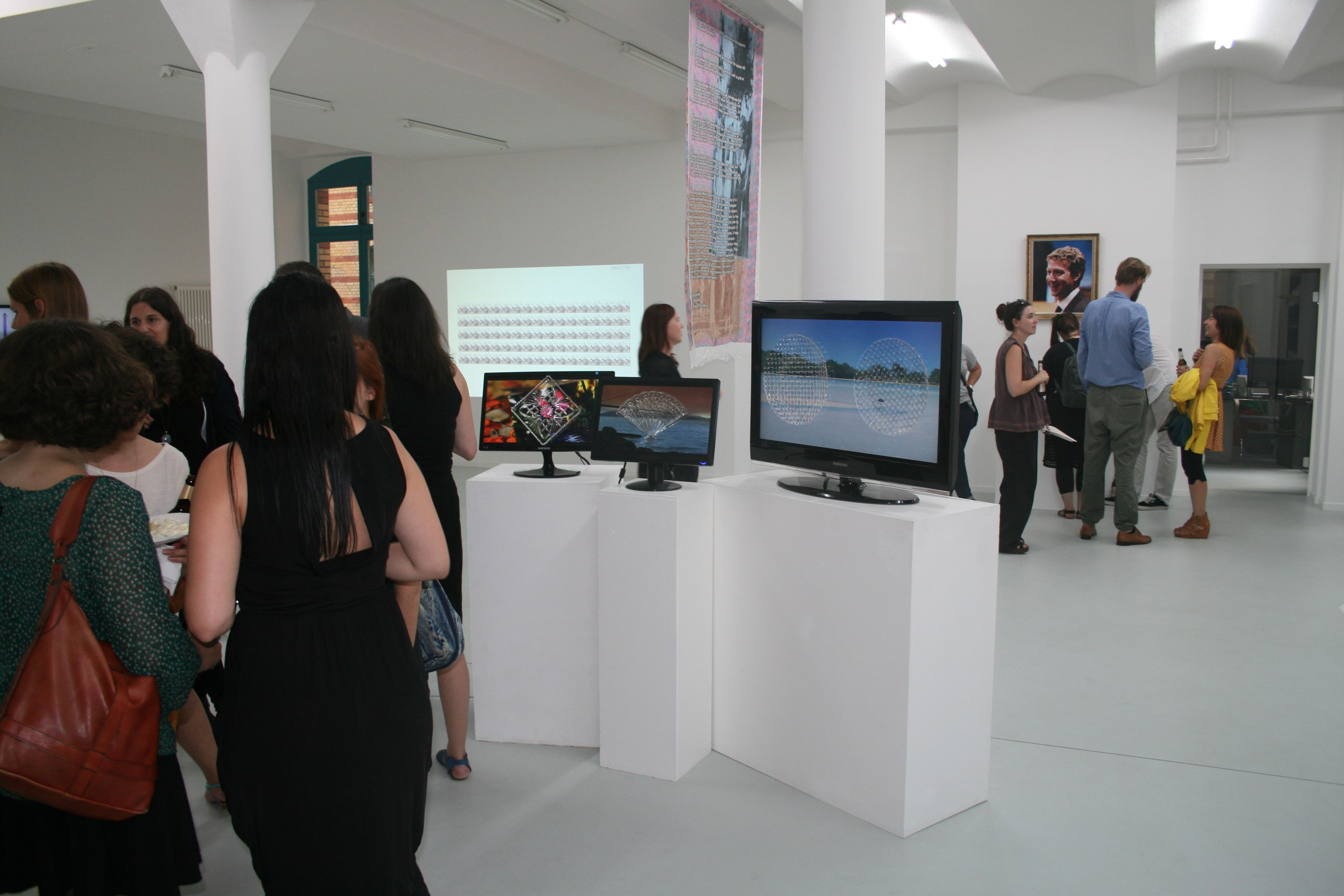 Not By Default, Gruppenausstellung, 2012, Preview