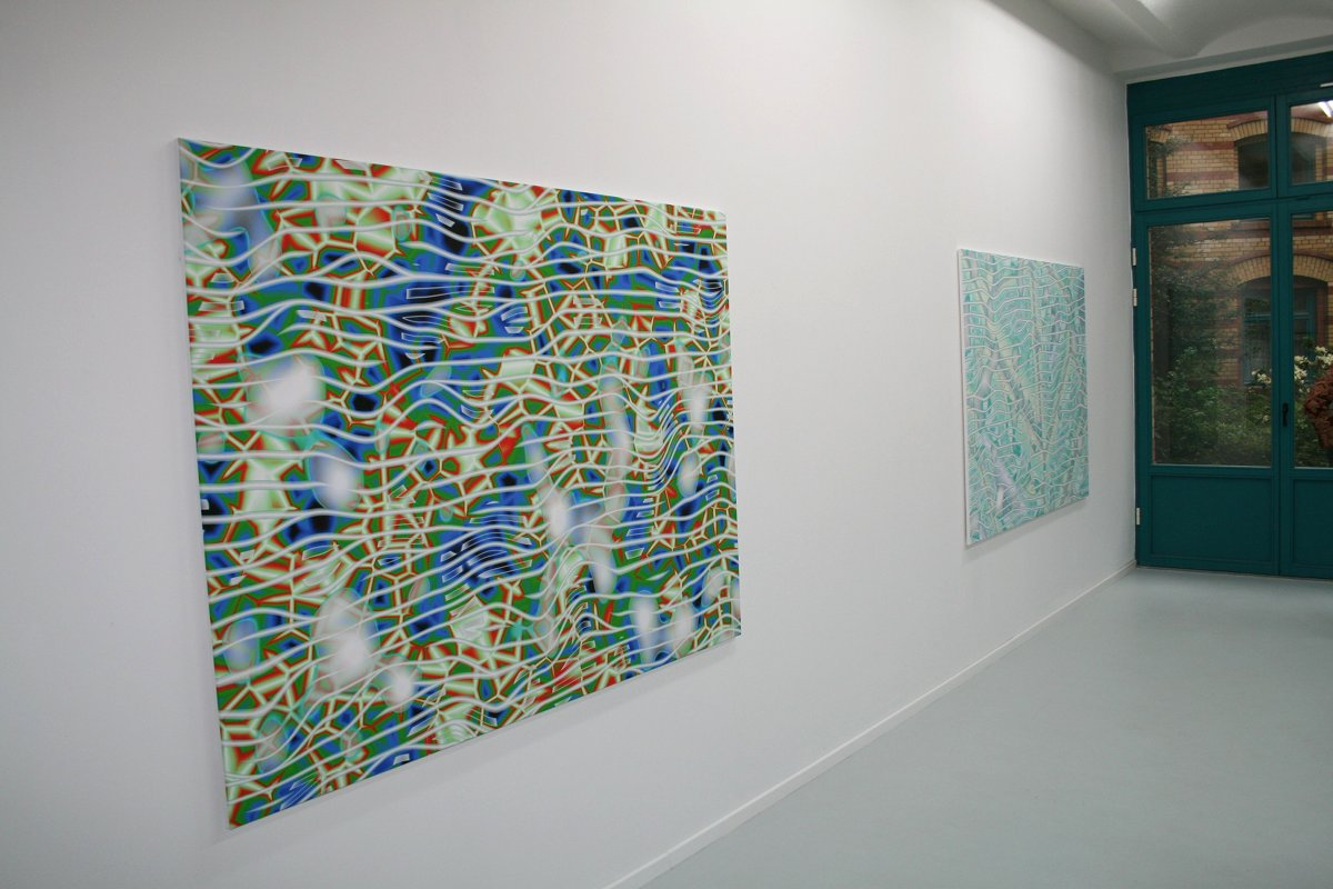 Summer Splash, Gruppenausstellung, 2012, Ausstellungsansicht