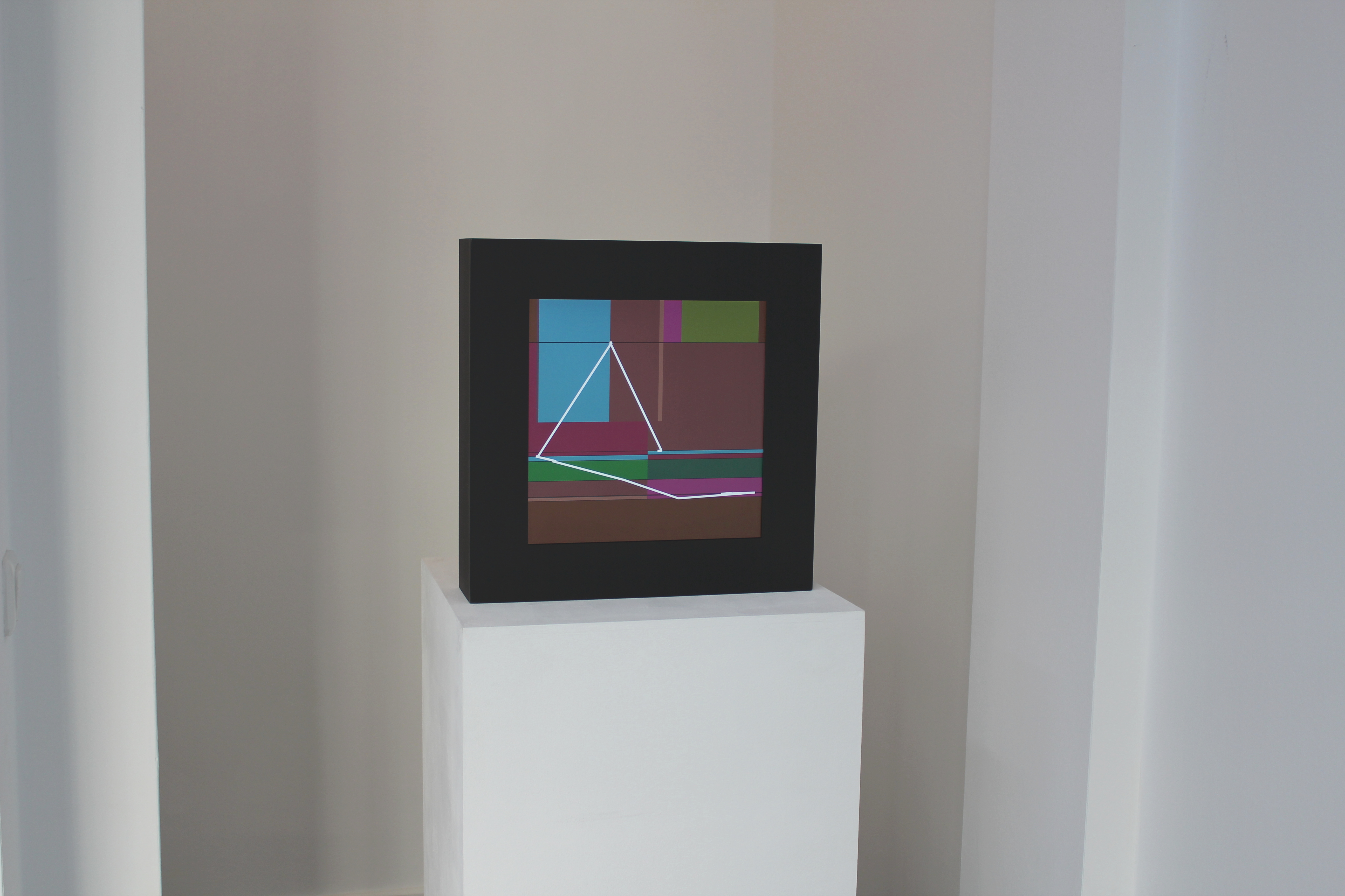 Frankfurt - Zeitzünder, Gruppenausstellung, 2013, Ausstellungsansicht