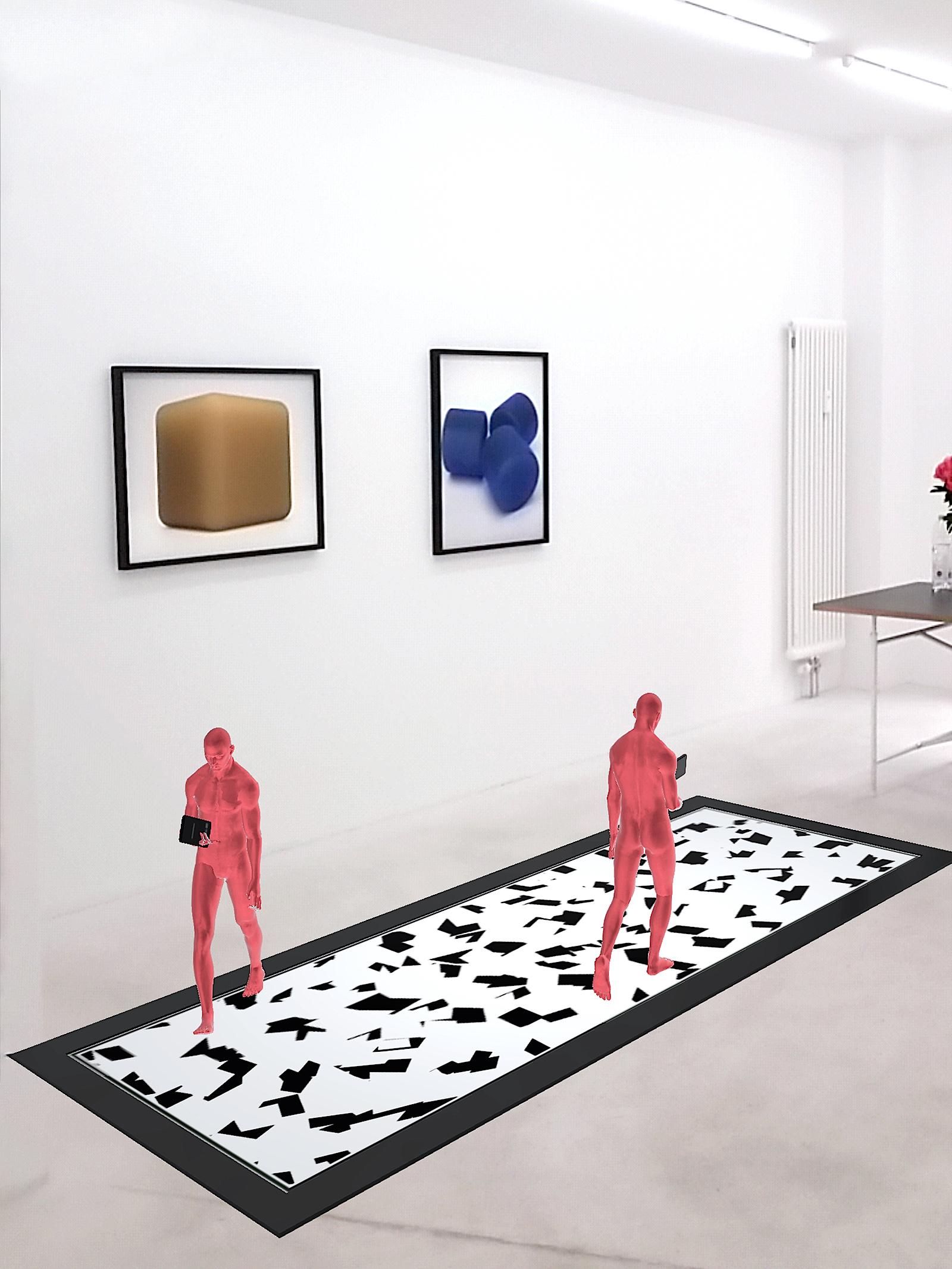 Banz & Bowinkel, Bots 01, App (Installationsansicht), 2018