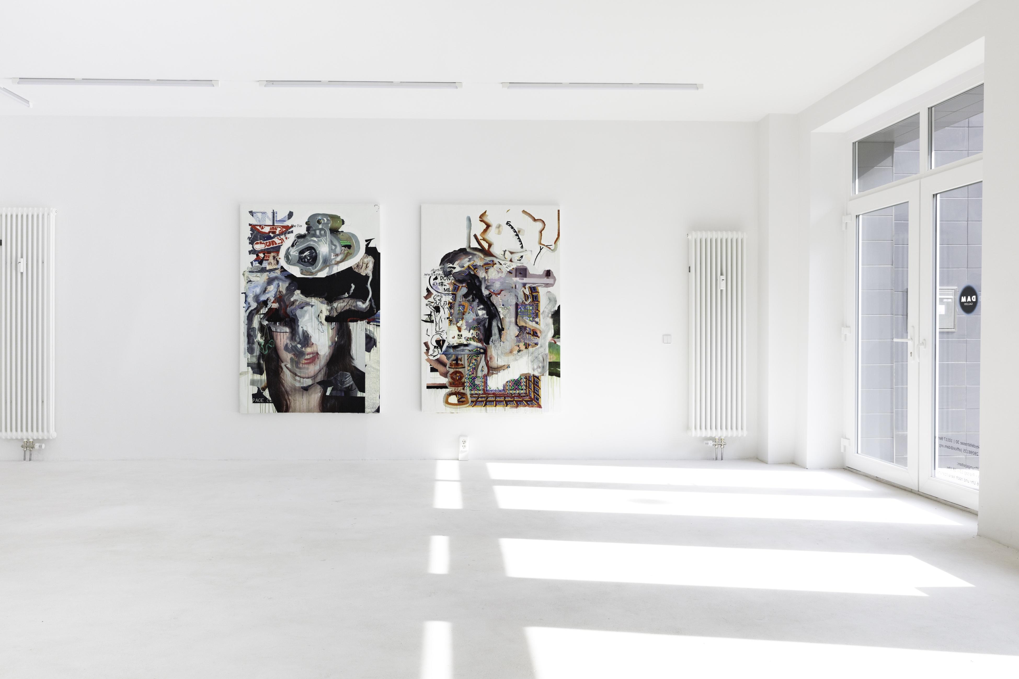 Siebren Versteeg, Mirror Finish, installation view, 2017