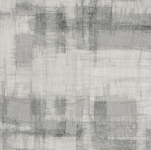ea betrams, Grid 1-003-1, Zeichnung, 65 cm x 65 cm, 2019