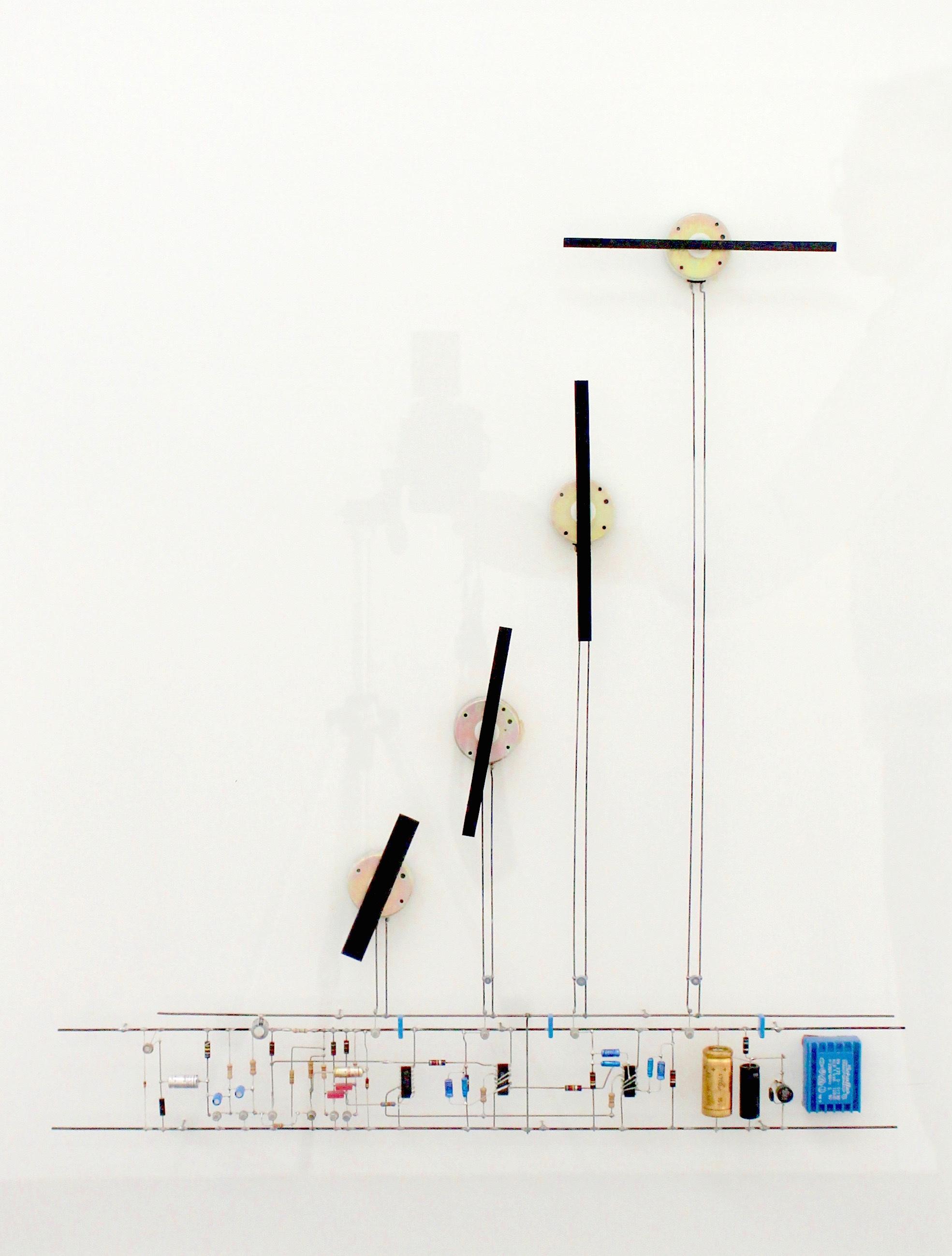 Peter Vogel, Drehflügel, mixed media (movement), 61 cm x 80,5 cm x 10,5 cm, 1998