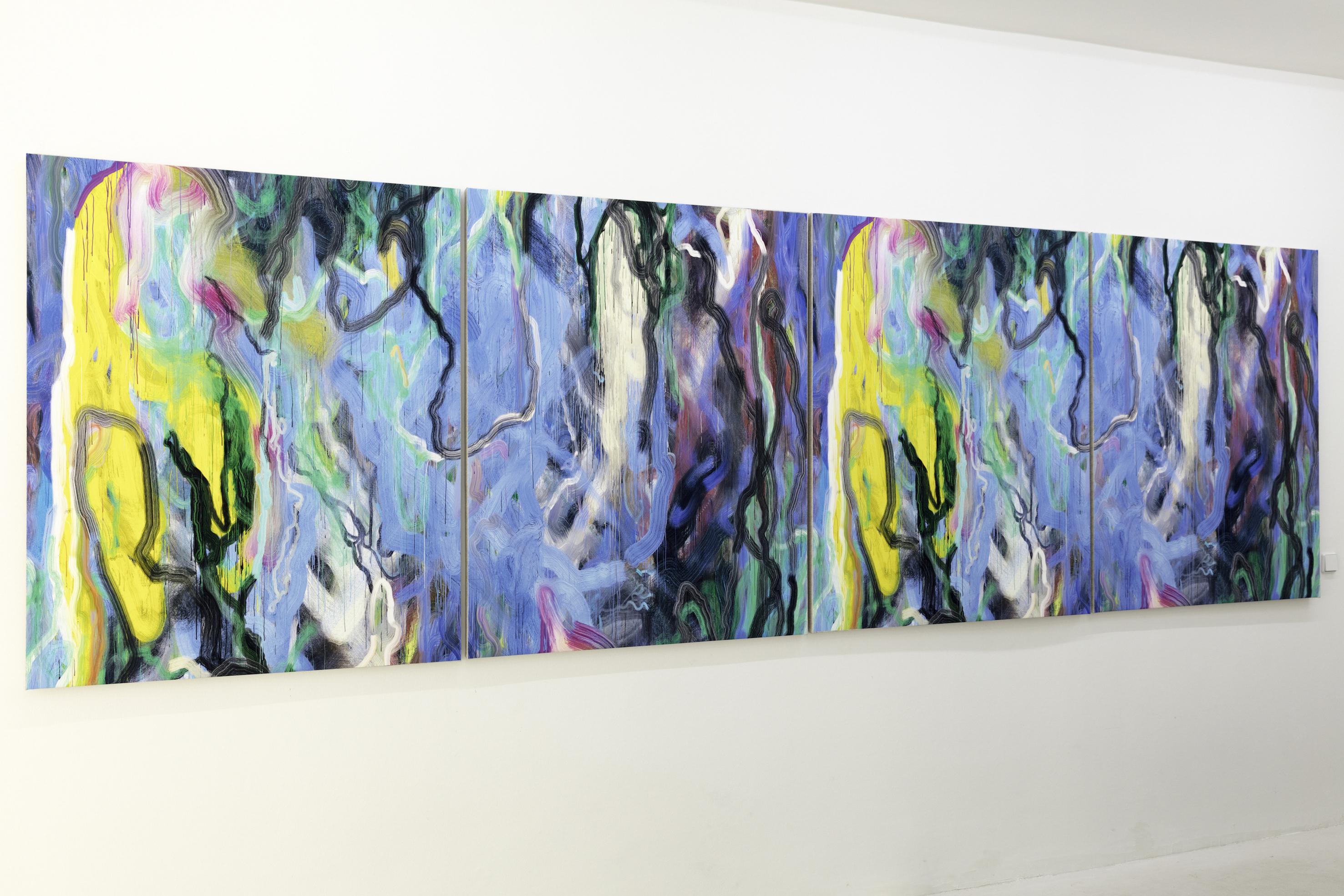 Siebren Versteeg, Mirror Finish, Ausstellungsansicht, 2017