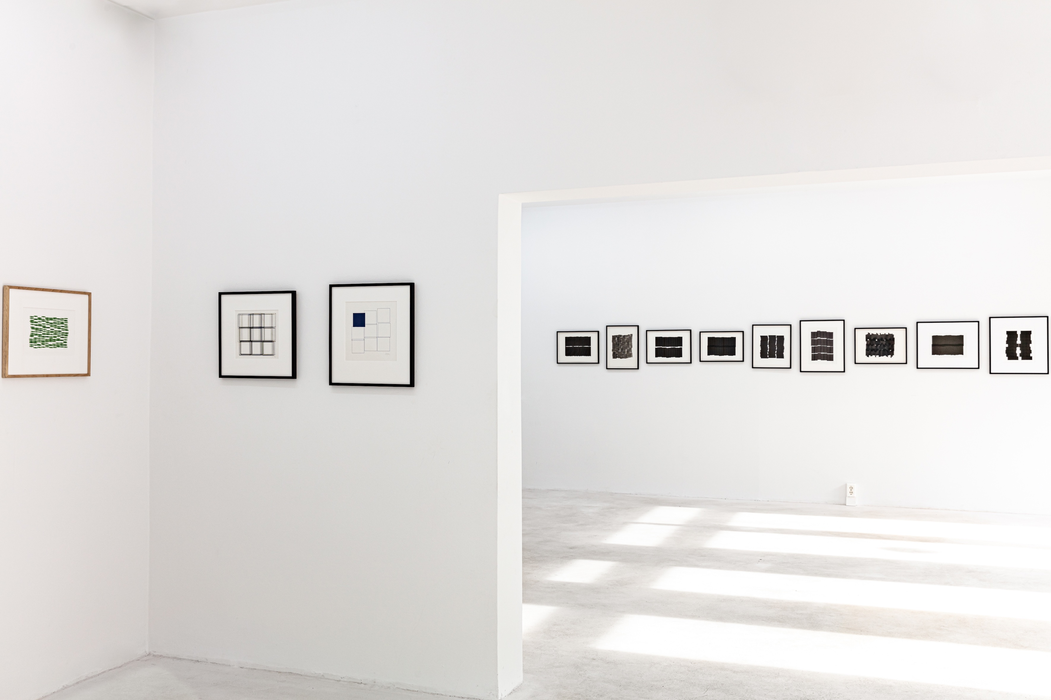 Vera Molnar, The 1980s, Exhibition view