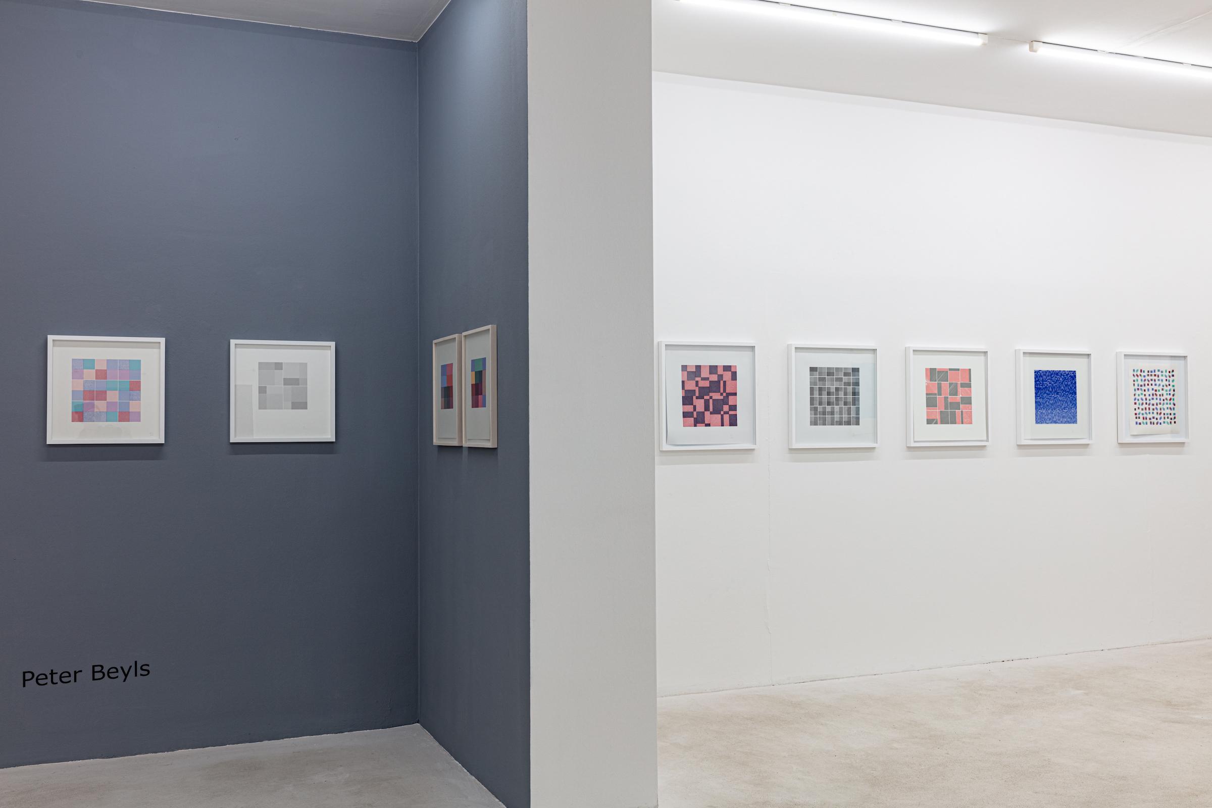 Algorithmic Introspections, Ausstellungsansicht, 2019