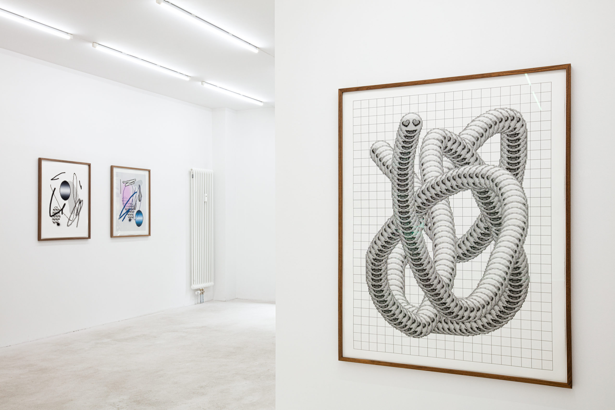 Arno Beck, dig-it-all, installation view, 2020