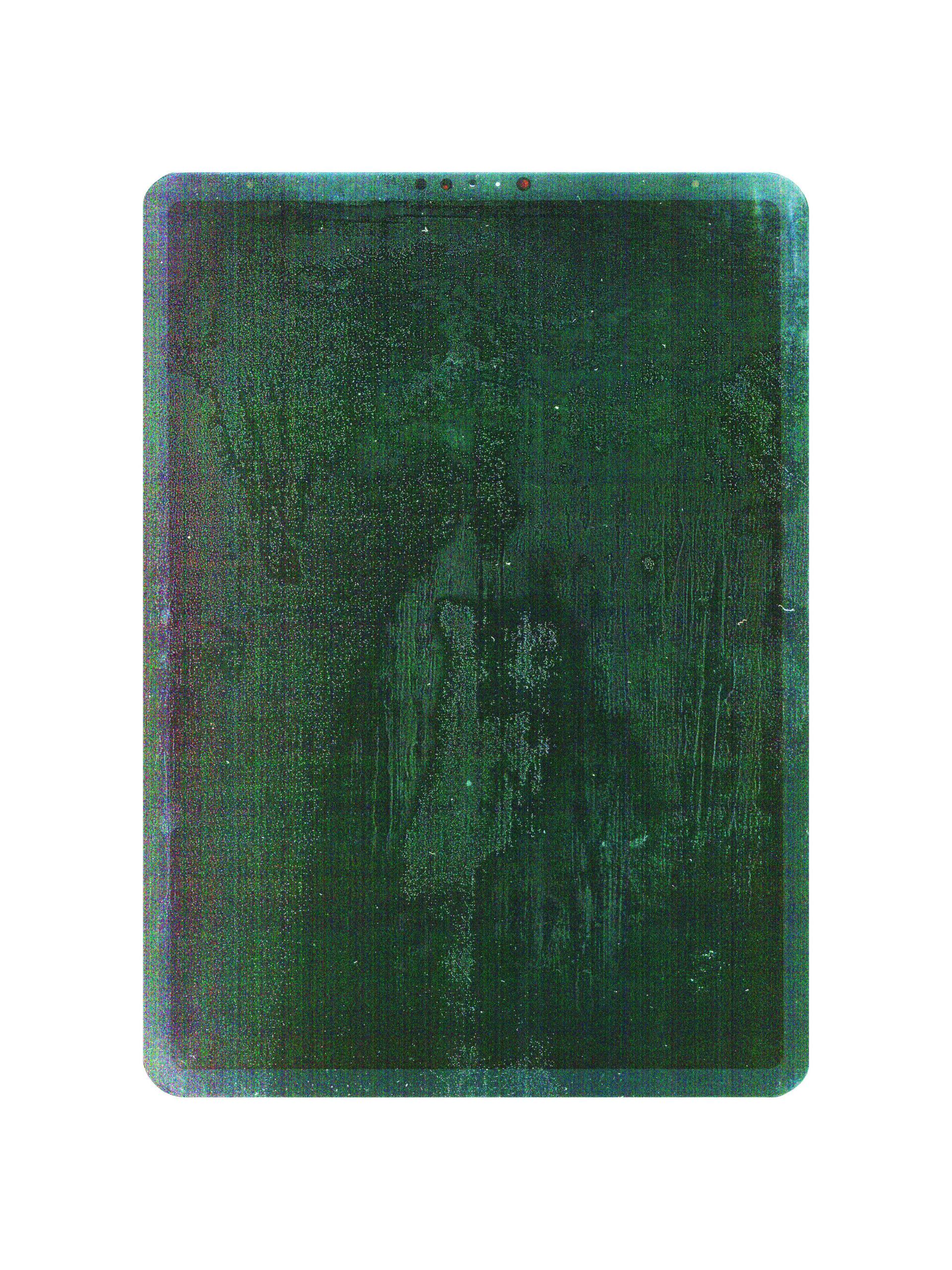 Tamiko Thiel, Touching, Traces: 2020-04-06a, A Clean Slate, digitaler Kunstdruck, 30 x 40 cm auf Hahnemühle Baryta Papier, 2020