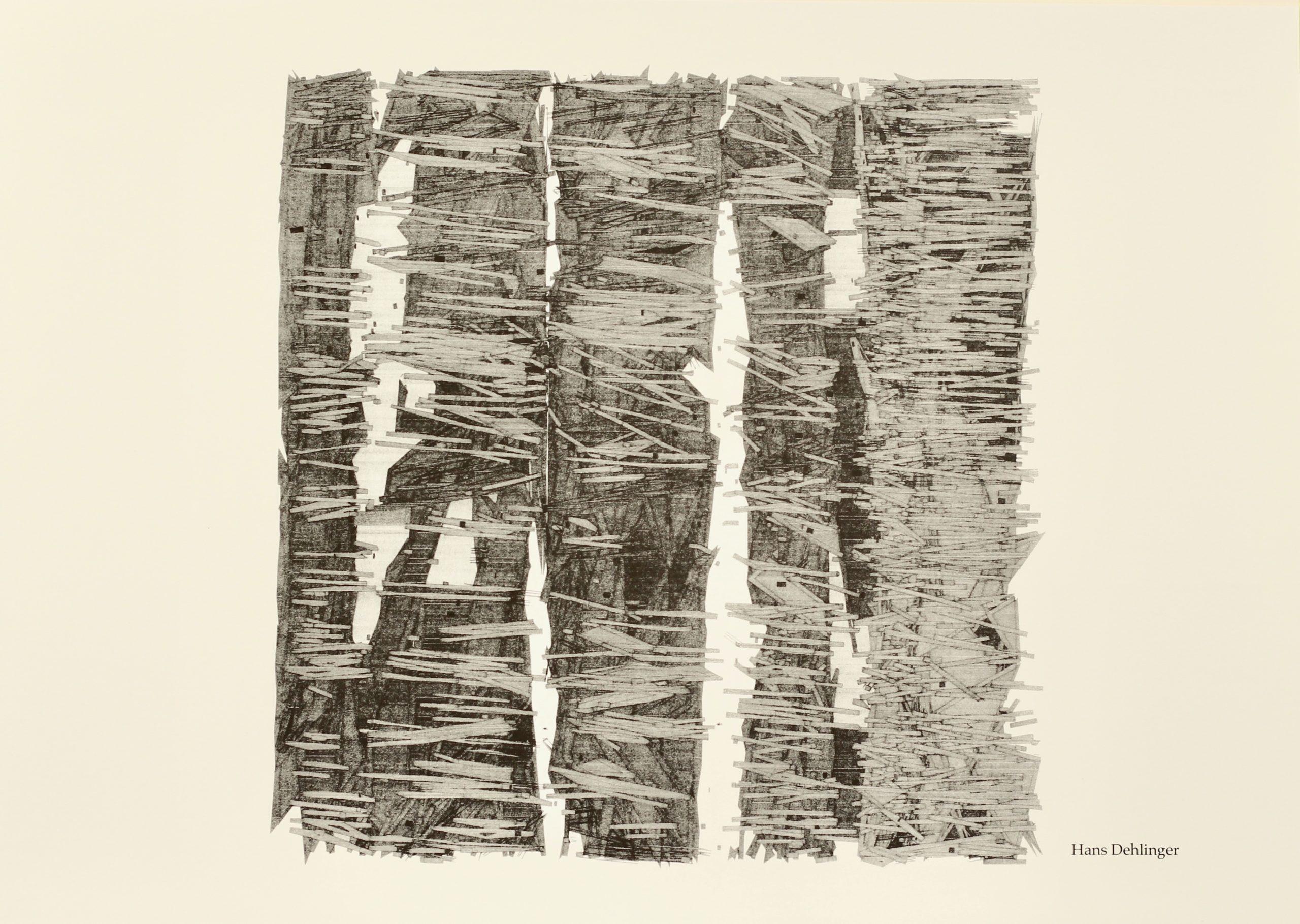 Hans Dehlinger, WUE-LIX-YO5, Hahnemühle Kunstdruck, 29,6 x 42 cm, Auflage von 50, 2007