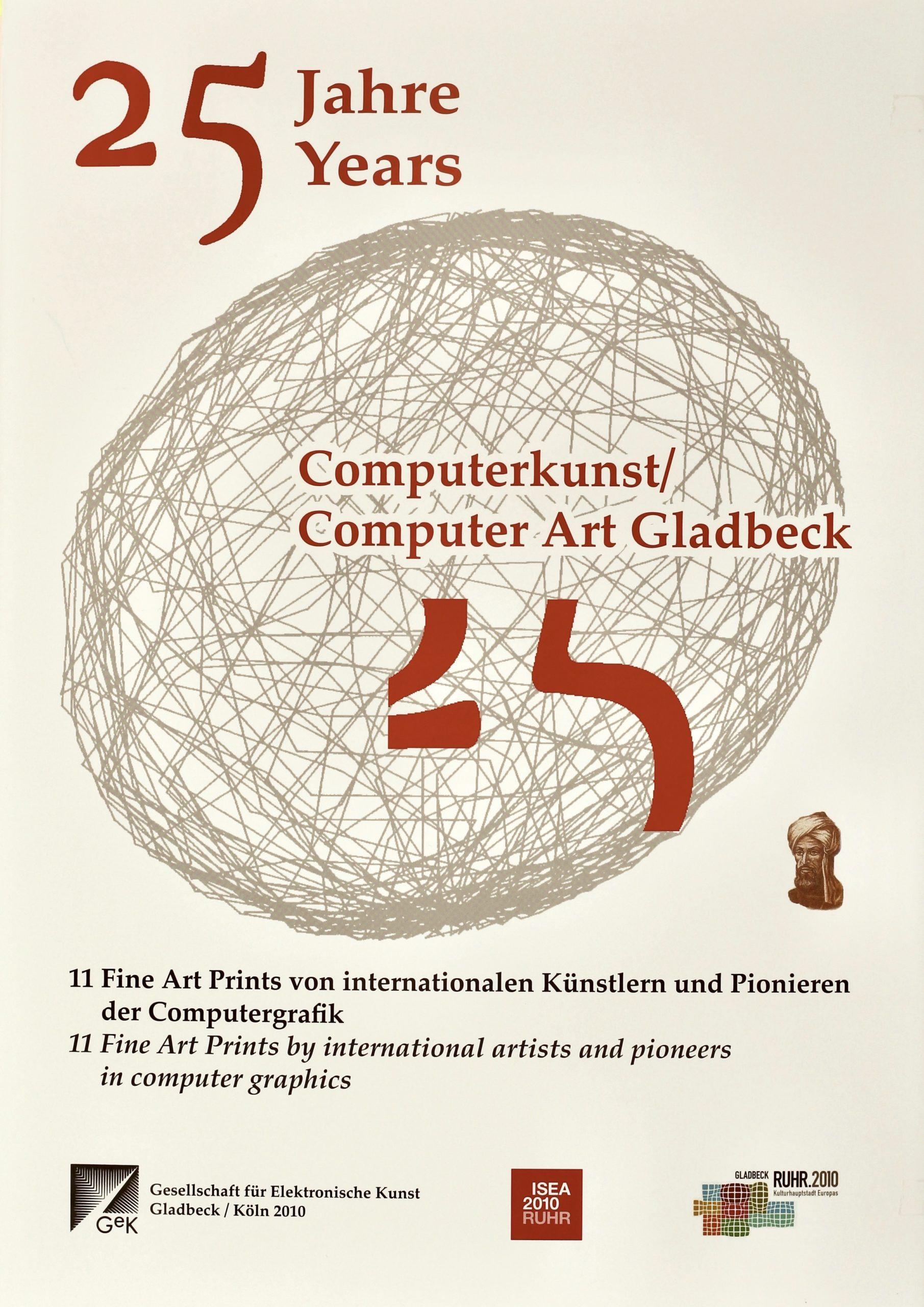 25 Jahre Computerkunst, Mappe Gladbeck