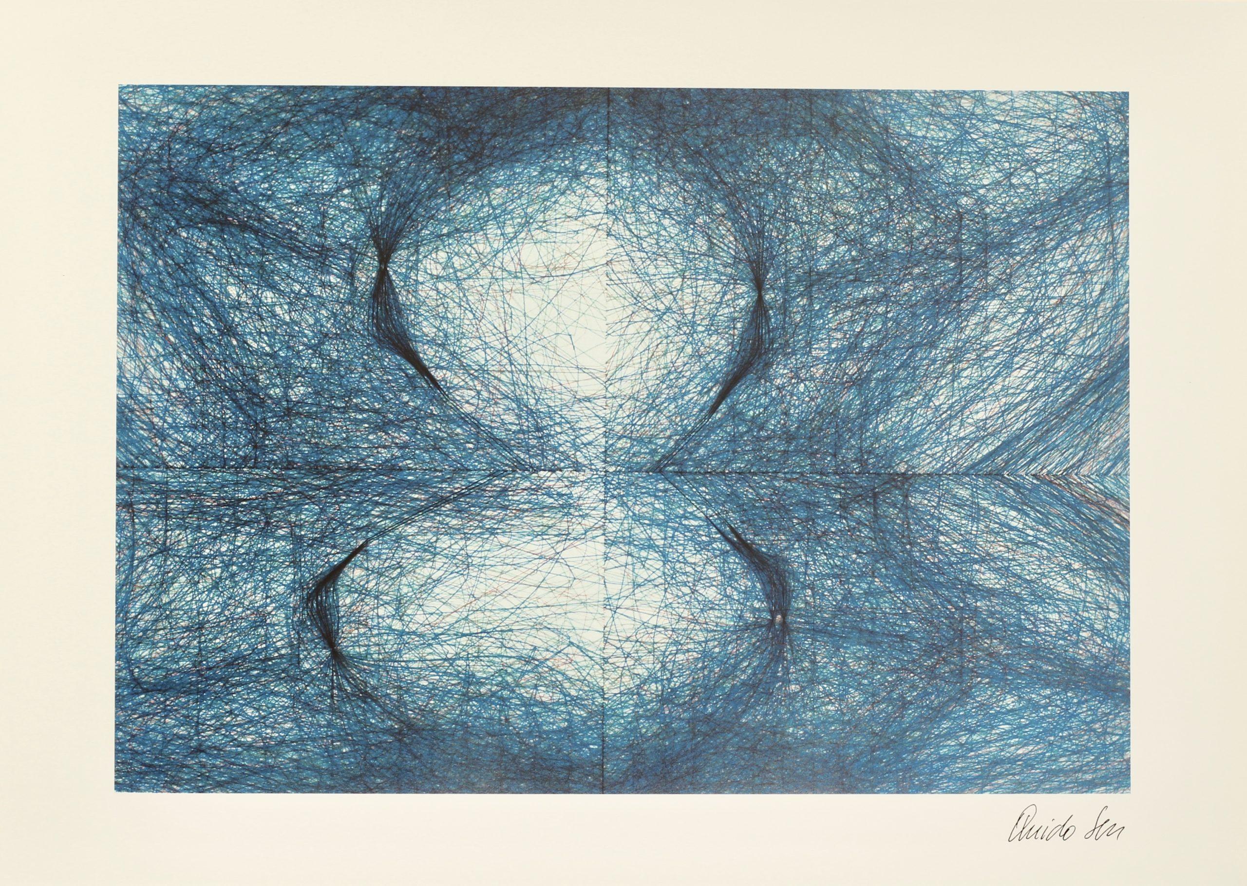 Quido Sen, 4-Blatttransformationen, Hahnemühle Kunstdruck, 29,6 x 42 cm, Auflage von 50, 1989