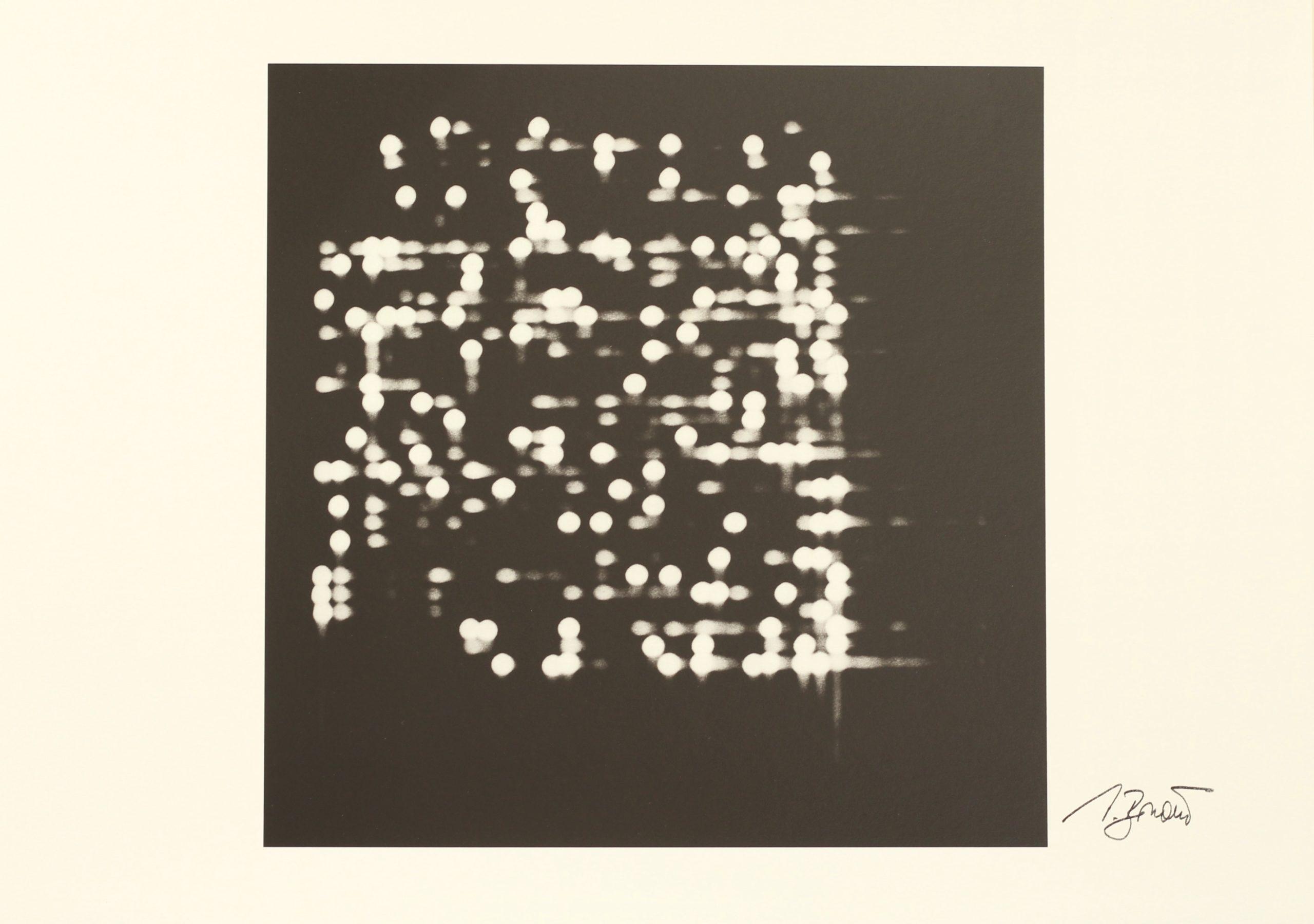Vladimir Bonacic, PLN 5, Hahnemühle Kunstdruck, 29,6 x 42 cm, Auflage von 50, 1969