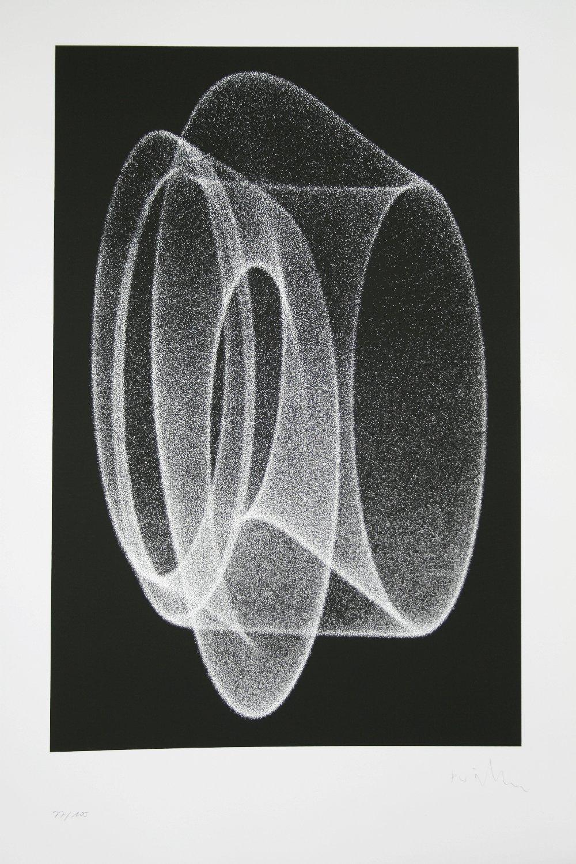 Herbert W. Franke, Siebdruck Edition, Auflage 100 Stück, 1965