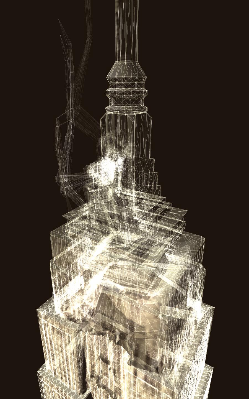 Mark Napier, Dissolve in Light, Software, Hardware, Holz, 2007