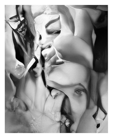 Mario Klingemann, Teratoma Serie, C-Print, 56 x 46 cm, 2019