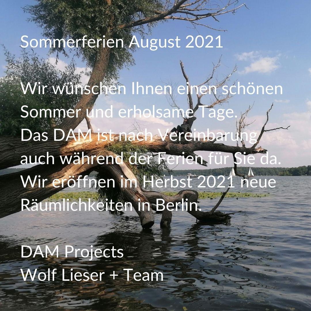 Sommerferien August 2021