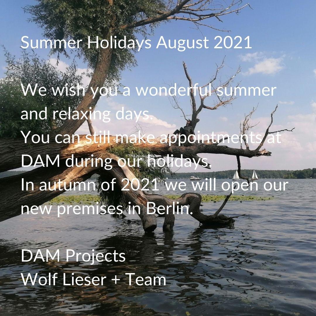 Summer Holidays August 2021